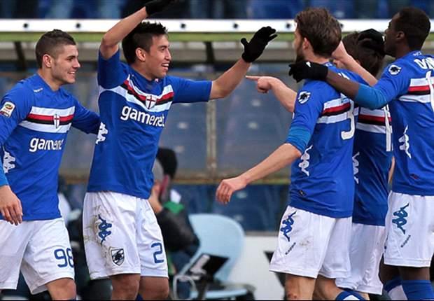 AS Roma Takluk Di Kandang Sampdoria