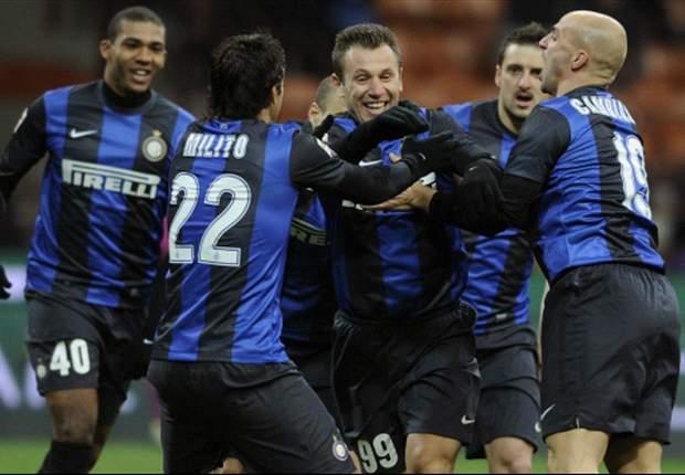 Inter Mailand meldet sich in der Serie A zurück und besiegt Chievo Verona mit 3:1
