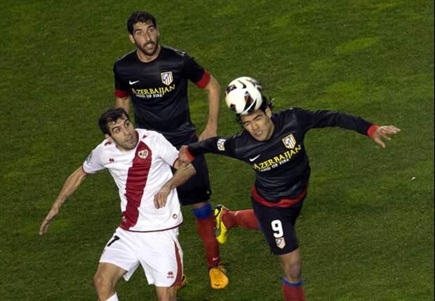 Atletico Madrid verliert bei Rayo Vallecano, Klatsche für Bilbao