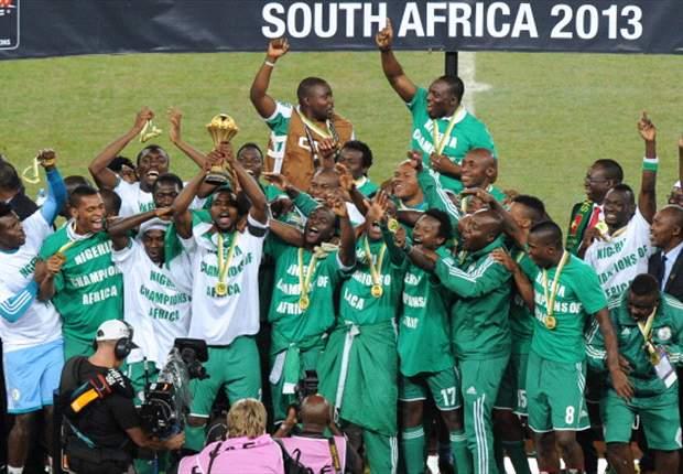 나이지리아, 아프리카 네이션스컵 우승