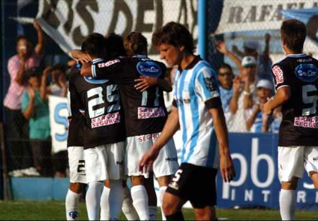 Atlético Rafaela 3-0 Racing: Un arranque con cachetazo