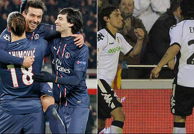 Valencia gegen Paris Saint-Germain - Stürmt Ibrahimovic das Mestalla?
