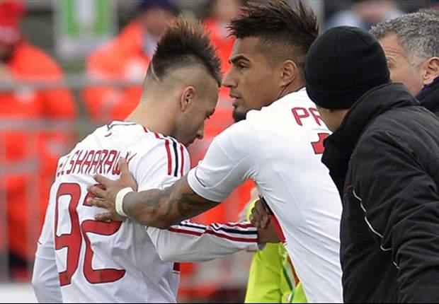 Aufstellungen: Kevin-Prince Boateng und Stephan El Shaarawy fordern Lionel Messi