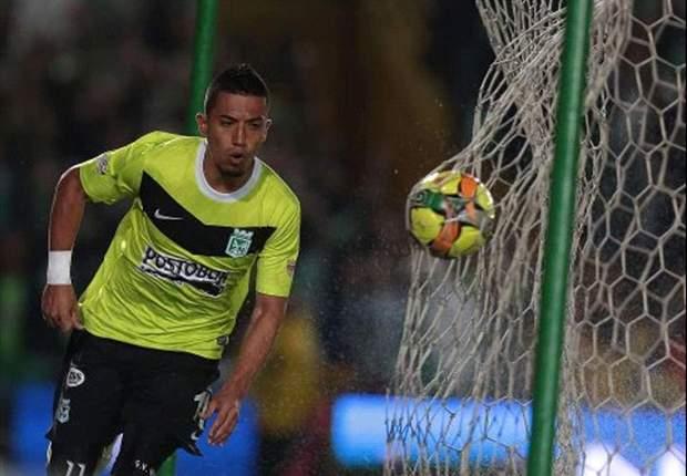 Fernando Uribe ya hace historia en Atlético Nacional