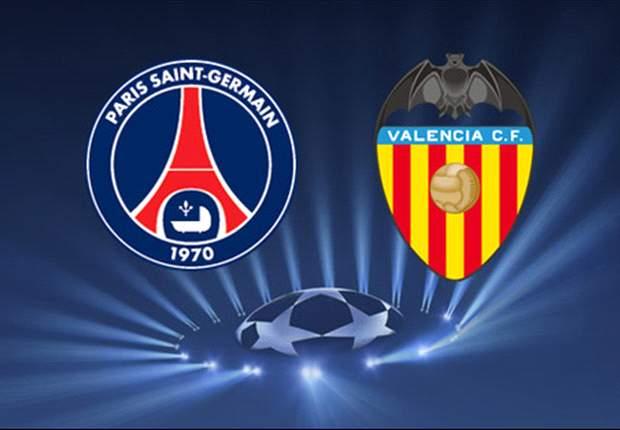 Valencia y PSG jugarán el primer partido oficial entre ambos