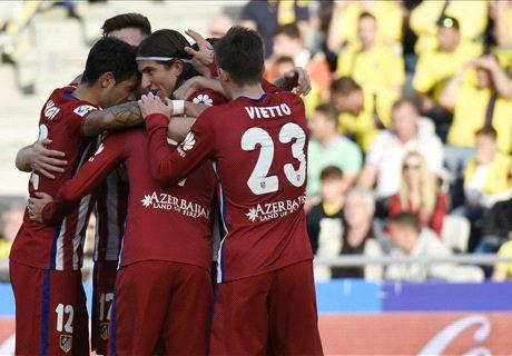 RATINGS: Las Palmas 0-3 Atletico