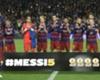 Piqué homenajeó a Messi en Twitter
