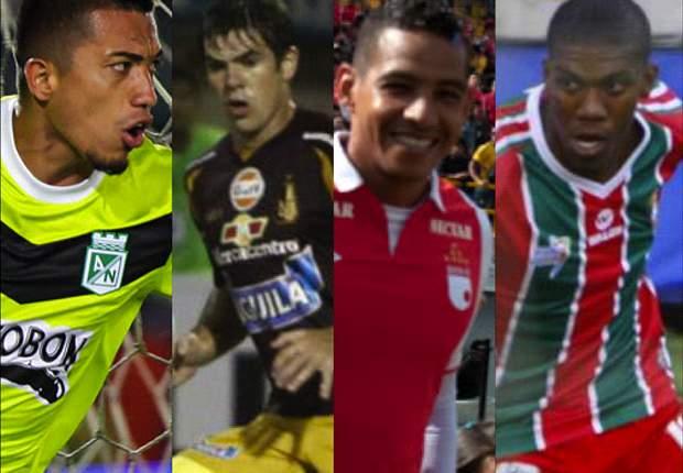 4x2 los goleadores del Fútbol Colombiano