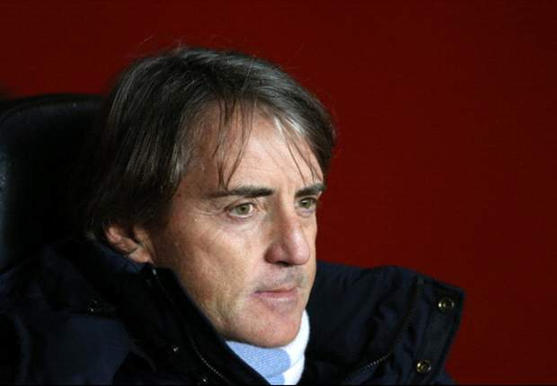 Mancini: Manchester United's lead in the title race is down to luck