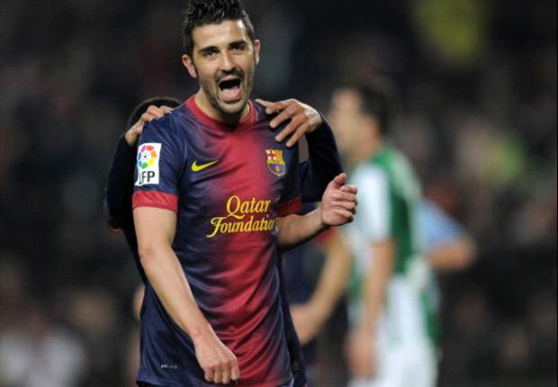 Tottenham launch €12m David Villa bid