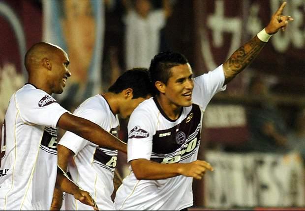 Lanús 4-0 Colón: Candidatura presentada