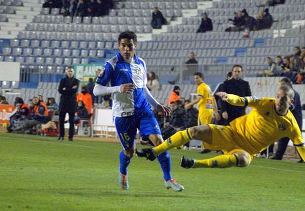 Ulises Dávila anhela más goles y asistencias con Sabadell