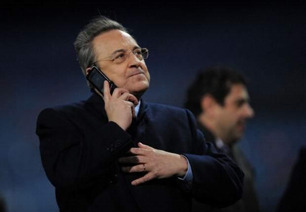 Florentino Perez: 'O Real Madrid não se rende jamais'