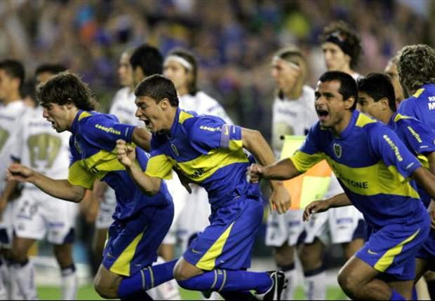 Juegos del Recuerdo: Boca Jrs. 1-1 Pumas | Una final de atraco