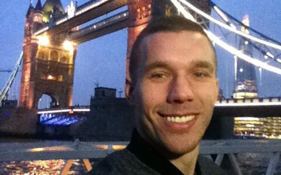 Conociendo Londres con Lukas Podolski