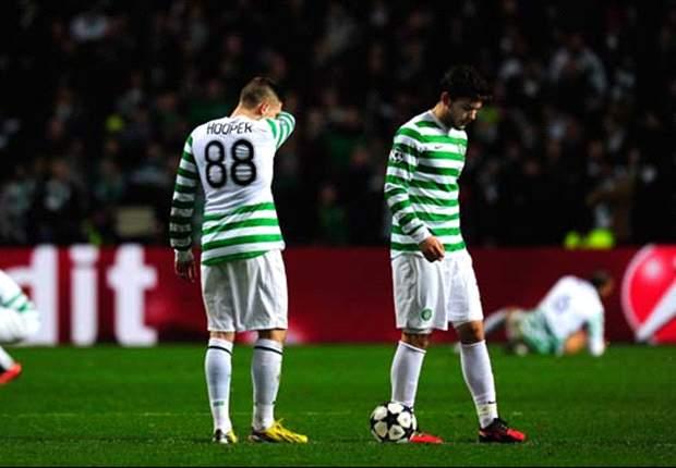 LdC, Celtic - Celtic proteste contre l'arbitrage