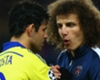 Costa weclome at PSG - David Luiz