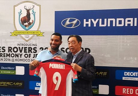 OFFICIAL: Pennant signs Tampines contract
