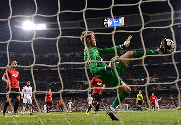 Michael Carrick Puji David De Gea