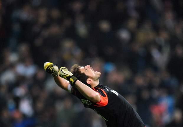 Casillas diz que deve voltar a ter condições de jogo em um mês