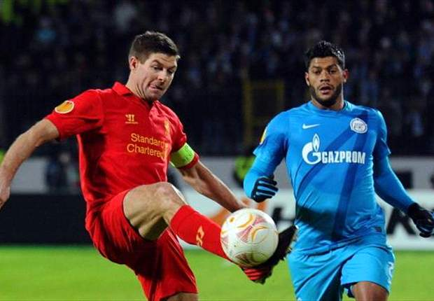 Liverpool can overturn two-goal deficit against Zenit, insists Gerrard