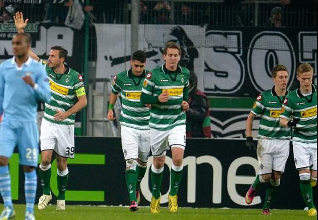 Circusremise Gladbach en Lazio: 3-3