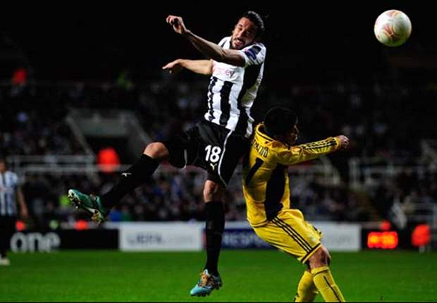 Newcastle 0-0 Metalist Kharkiv: Hosts fuming over offside calls