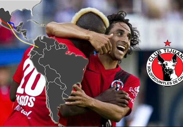 Xolos comienza su largo viaje a la Copa Libertadores ante Jaguares