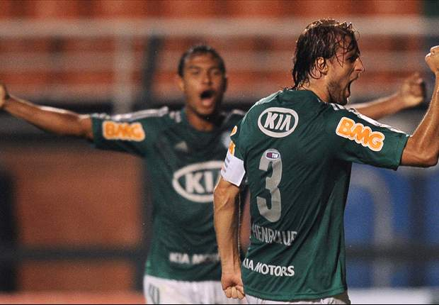 Após gol na estreia, Henrique rejeita rótulo de referência no Palmeiras