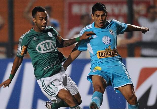 Sporting Cristal debuta con derrota ante Palmeiras