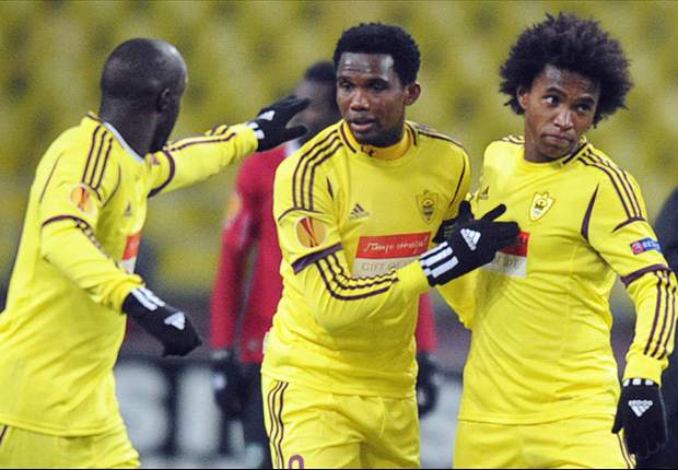 Willian: I can win the lot with Anzhi
