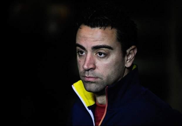 Xavi twijfelgeval voor clash met Milan