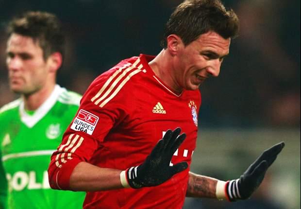 Wolfsburg 0-2 Bayern Munich: Mandzukic & Robben earn Bavarians victory at the Volkswagen Arena