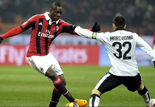 Milan 2x1 Parma: Balotelli faz golaço e o Rossonero se aproxima dos líderes