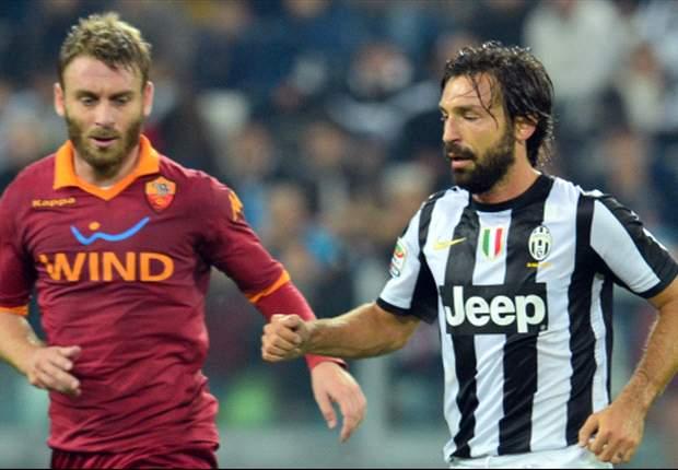 Daniele De Rossi Mungkin Absen Lawan Juventus