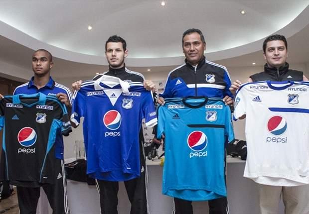 La nueva indumentaria de Millonarios 2013