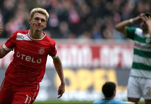 Fortuna Düsseldorf schlägt Greuther Fürth hochverdient mit 1:0