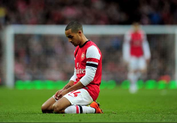 Bayern defeat proves that Walcott can't play as the lone striker