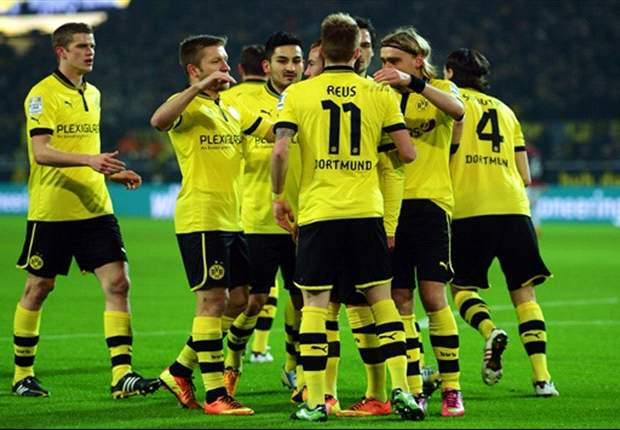 Borussia Dortmund 3-0 Eintracht Frankfurt: Reus hits hat trick as champions return to winning ways