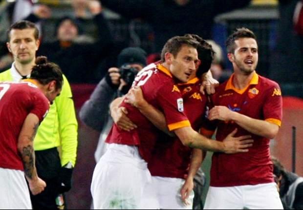 Francesco Totti Tundukkan Juventus