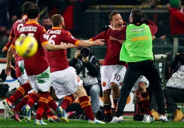 Roma sterker dan koploper Juventus