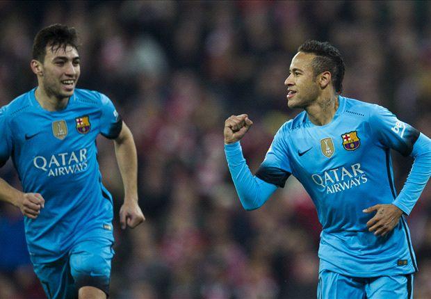 ไฮไลท์  Athletic Bilbao 1 - 2 Barcelona