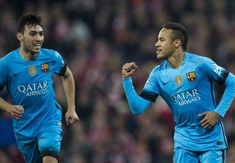 Neymar brilla en su primer solo
