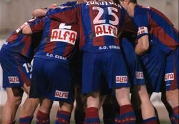 El Eibar aguanta y ya es nuevo líder de la Liga Adelante
