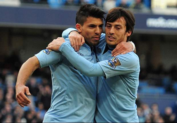 TEAM NEWS: Aguero & Silva start for Manchester City as Dzeko is dropped for West Ham clash