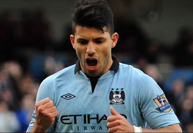 Do not count Manchester City out of title race, says Aguero