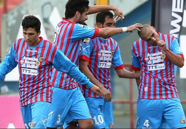 Serie A, 25ª giornata - Impatta il Napoli, vincono Catania, Torino, Cagliari e Genoa