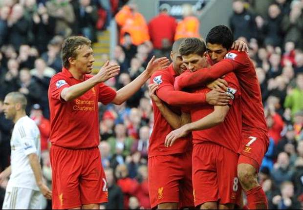 Liverpool 5-0 Swansea City: Rampant Reds destroy Laudrup's side