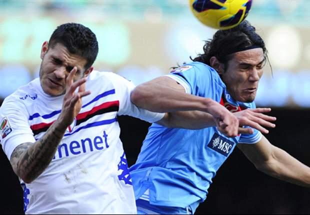 """Pari Sampdoria al 'San Paolo', il vice di Rossi gongola: """"Per noi ottimo punto, importante allontanare zona rossa"""""""