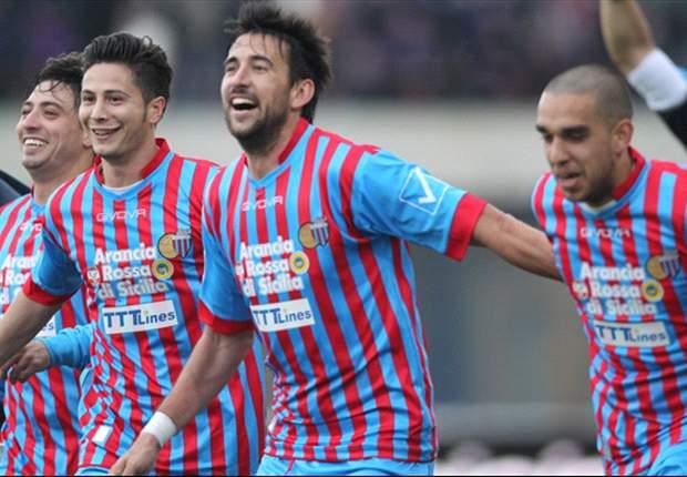 REVIEW Serie A Italia: Catania Dekati Lima Besar